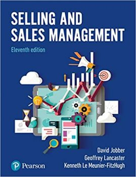 Selling & Sales Management | CMKT 302
